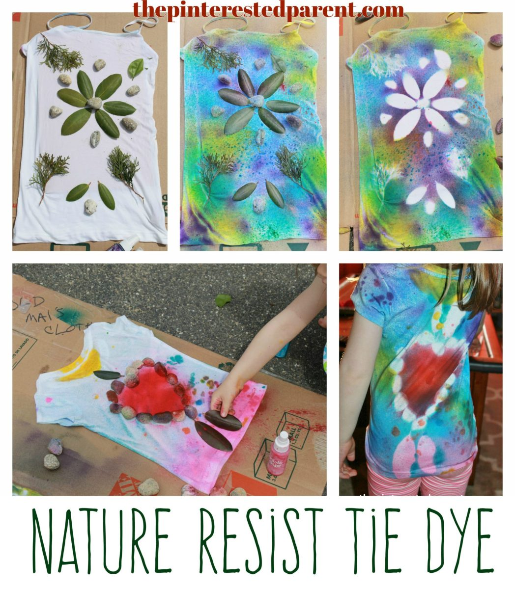 Nature Resist Tie Dye Shirts